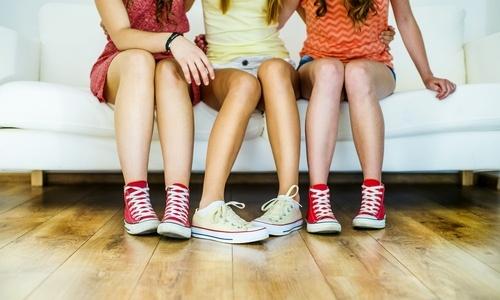 Dievčenské vychádzkové tenisky