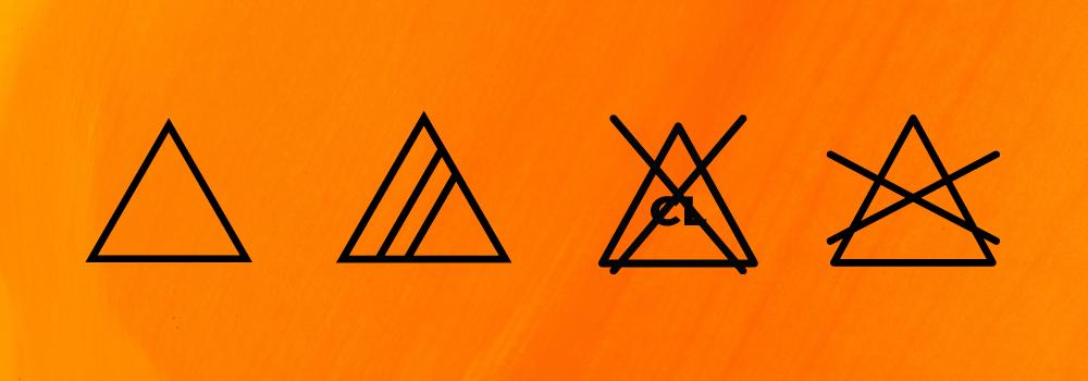 Symboly bielenia na oblečení