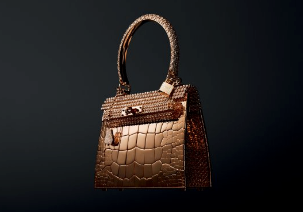 Kabelka Hermès Kelly Rose Gold