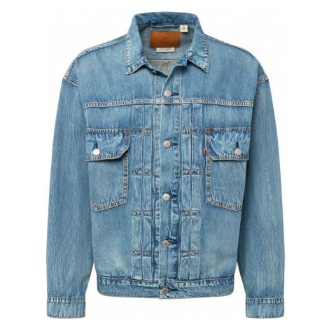 LEVI'S Prechodná bunda 'TRUCKER'  modrá denim Levi´s