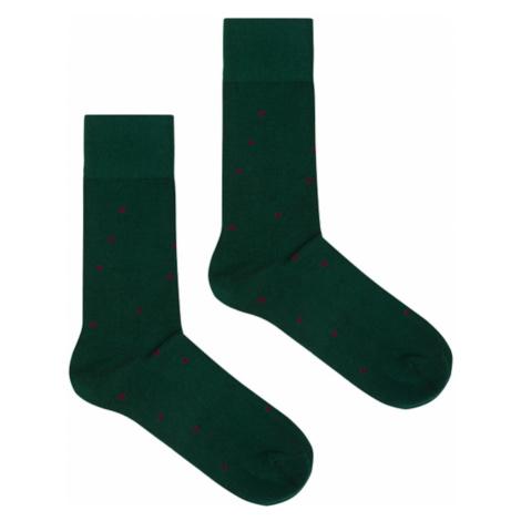 Kabak Unisex's Socks Organic Dots Ir