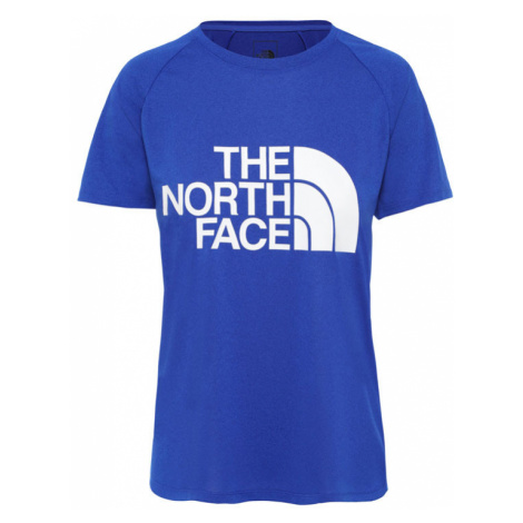 The North Face W Graphic Play Hard slim Fit Tee-L modré NF0A3YHKDW4-L
