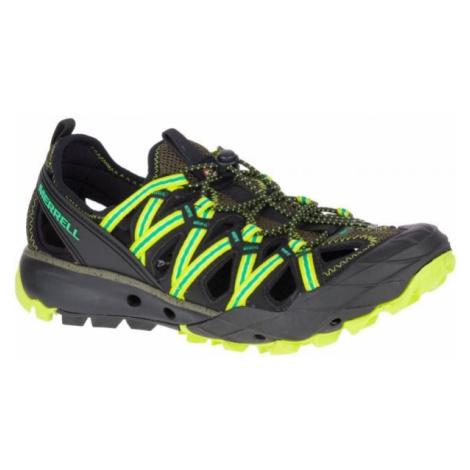 Merrell CHOPROCK SHANDAL zelená - Pánska outdoorová obuv