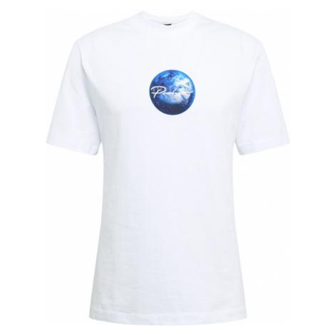 River Island Tričko  šedobiela / námornícka modrá / sivá / tmavomodrá
