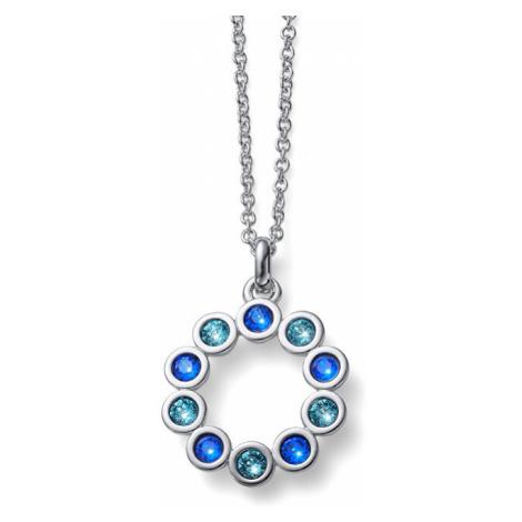 Oliver Weber Oslňujúci náhrdelník s kryštálmi City BLU