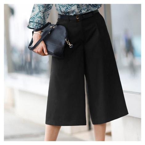 Blancheporte Nohavicová sukňa čierna