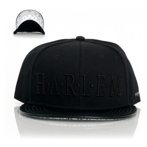 Cayler & Sons Black Label Harlem Snapback Black White - Veľkosť:UNI