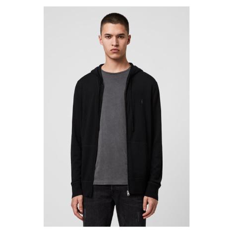 AllSaints - Mikina Mode Merino Zip Hood