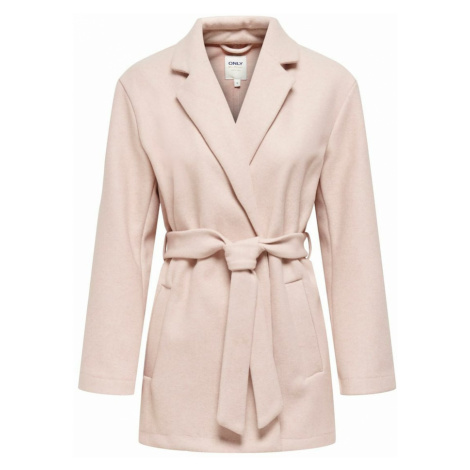 ONLY Prechodný kabát  ružová