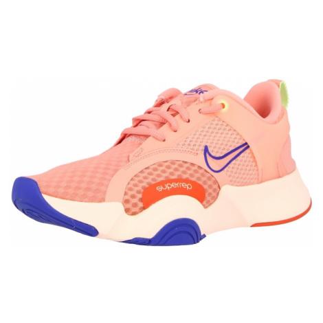NIKE Športová obuv 'SuperRep Go 2'  lososová / kráľovská modrá / oranžová