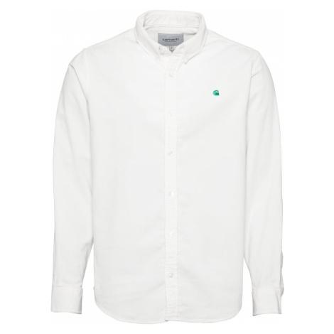 Carhartt WIP Košeľa 'Madison'  krémová / nefritová