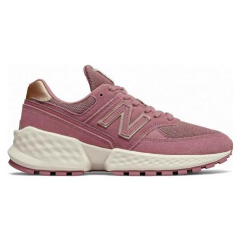 New Balance WS574ATG ružová - Dámska voľnočasová obuv