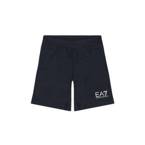 EA7 Emporio Armani Športové kraťasy 3HBS51 BJ05Z 1554 Tmavomodrá Regular Fit