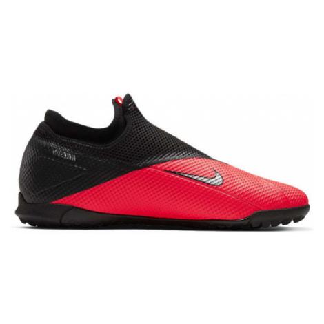 Nike PHANTOM VSN 2 ACADEMY DF TF červená - Pánske turfy