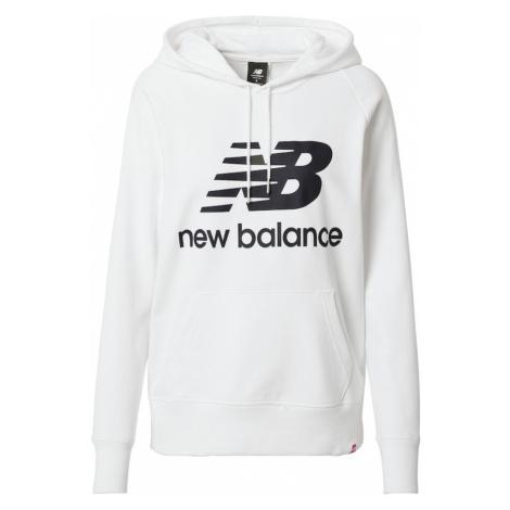 new balance Mikina 'Essentials'  biela / čierna