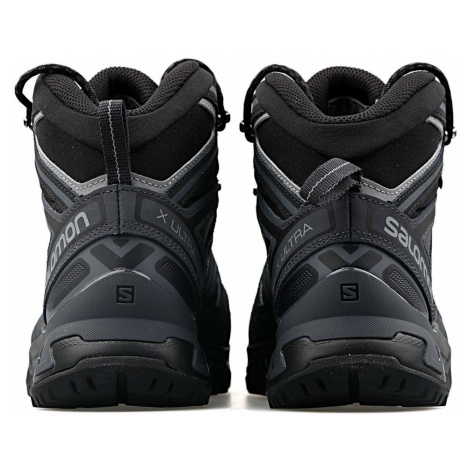 Pánska obuv SALOMON X Ultra 3 MID GTX Black Čierna