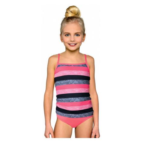 Dievčenské plavky tankiny Isabelka prúžky Lorin