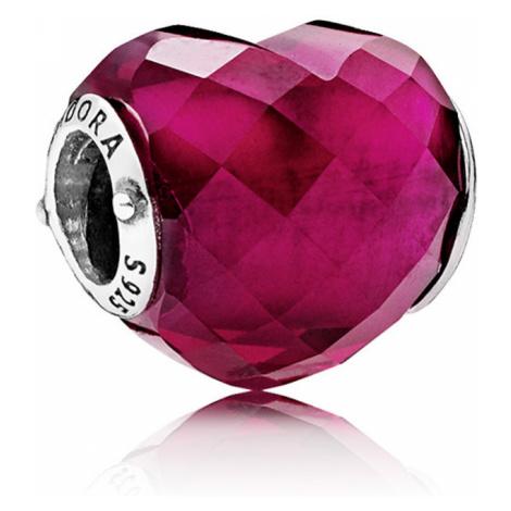 Pandora Romantický korálku Srdce 796563NFR