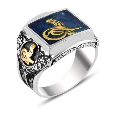 OLIVIE Pánsky masívny prsteň 3721
