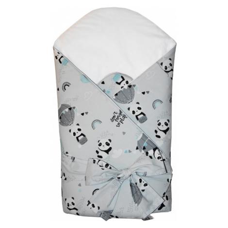 EKO Zavinovačka bavlnená s kokosovým vnútrom Panda