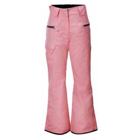 2117 JULARBO svetlo ružová - Dámske lyžiarske nohavice