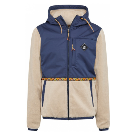 Iriedaily Prechodná bunda  béžová / námornícka modrá