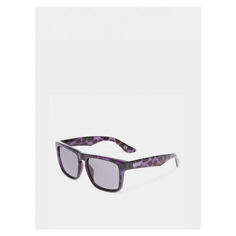 Fialovo-čierne vzorované slnečné okuliare VANS