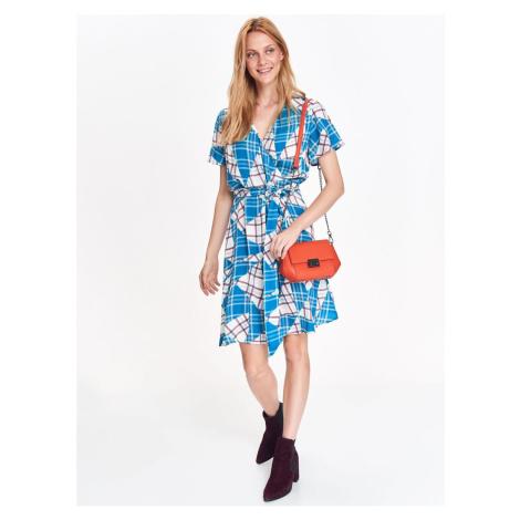 Top Secret dámske kárované šaty