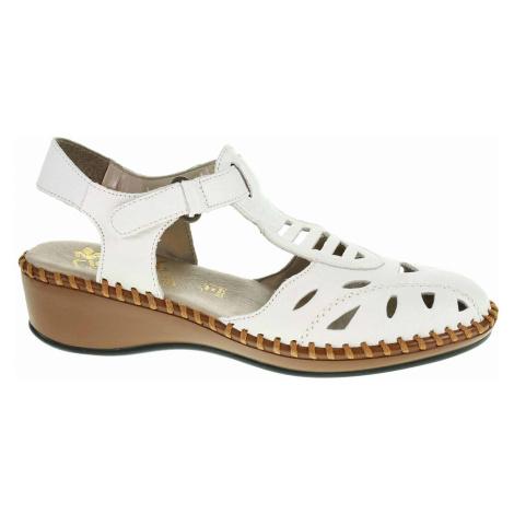 Dámské sandály Rieker N1675-80 weiss N1675-80