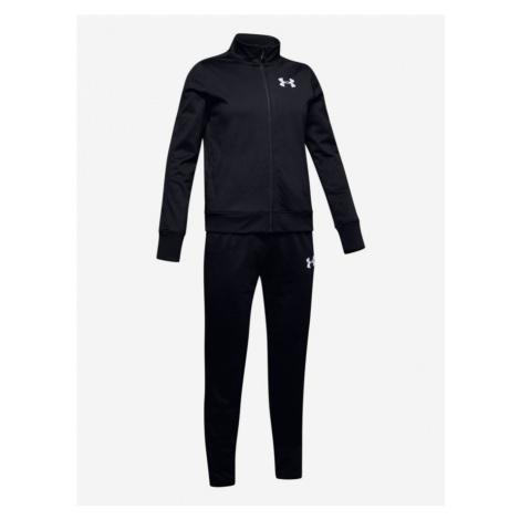 Súprava Under Armour Em Knit Track Suit-Blk Čierna
