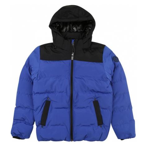 Cars Jeans Zimná bunda 'SCOLO'  kobaltovomodrá / čierna