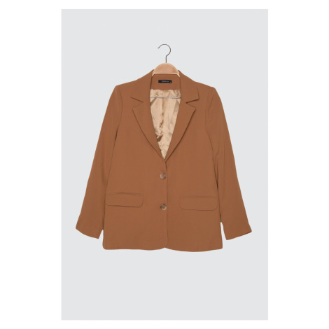 Trendyol Camel Belt Jacket