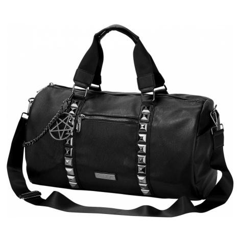 taška (kabelka) KILLSTAR - Backstage Dufebag - BLACK - KSRA001812