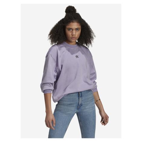 Loungewear Adicolor Essentials Mikina adidas Originals Fialová