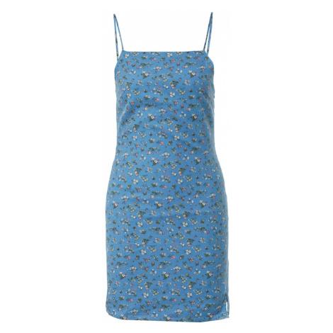 Daisy Street Letné šaty 'EMMA'  nebesky modrá / zmiešané farby