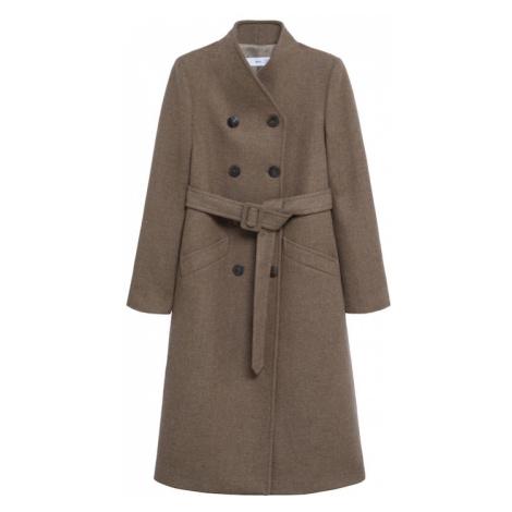 MANGO Prechodný kabát 'Luna 5'  hnedá