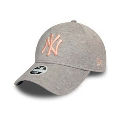 New Era 9FORTY JERSEY ESSENTIAL NEW YORK YANKEES šedá - Dámska šiltovka
