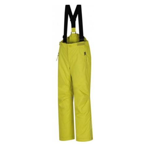 Hannah KALHOTY AKITA JR žltá - Detské lyžiarske nohavice