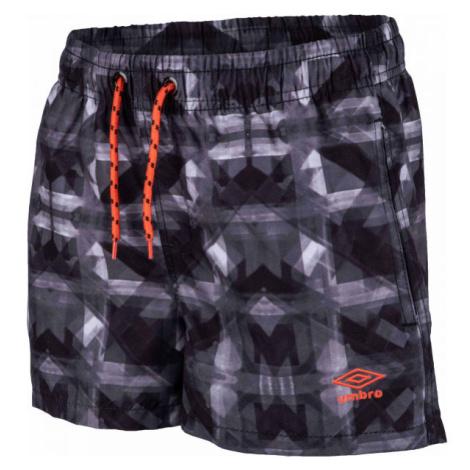 Umbro ZAZO šedá - Chlapčenské plavecké šortky