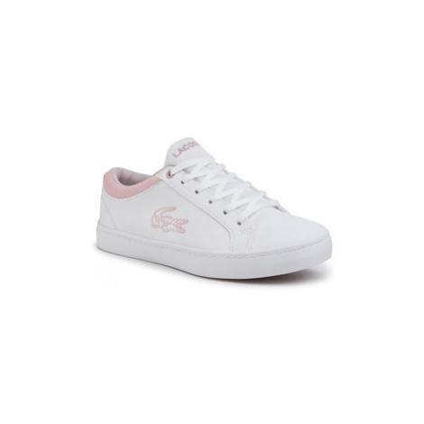 Lacoste Sneakersy Straightset 120 2 Cuj 7-39CUJ000283J Biela