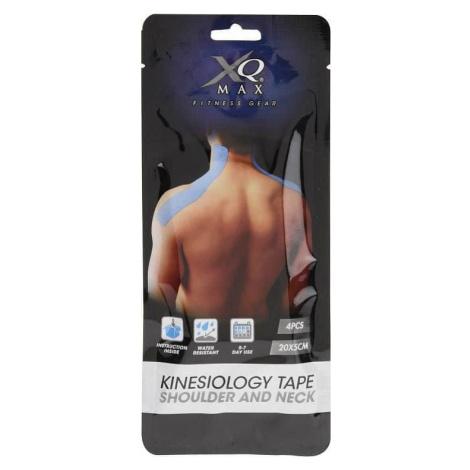 Kinesiology Shoulder/Neck Tape - Tejpovací páska Ramena 20x5 cm - 4ks