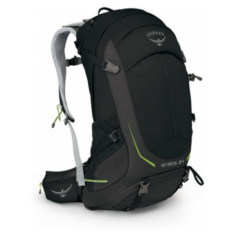 Osprey STRATOS 34 II M/L čierna - Turistický batoh
