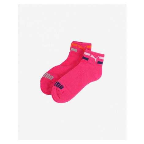Puma Ponožky 2 páry detské Ružová