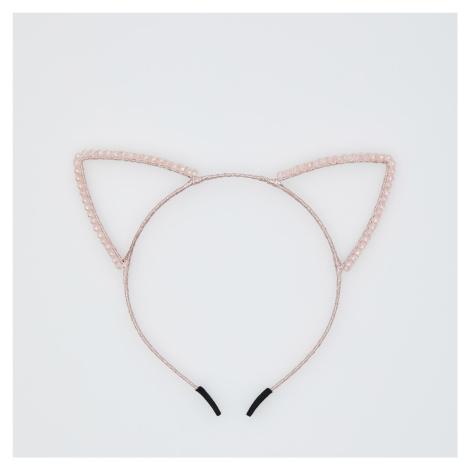 Sinsay - Čelenka s ušami - Ružová