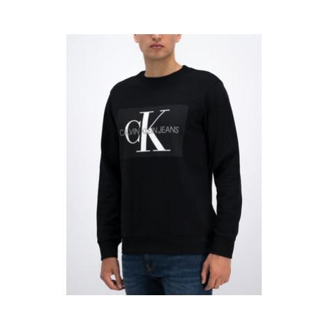 Calvin Klein Jeans Mikina J30J307742 Čierna Regular Fit