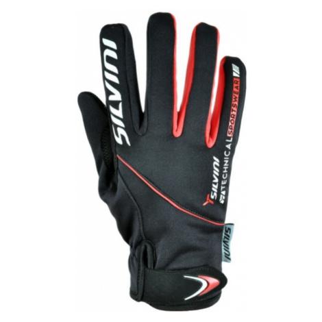 Dámske rukavice Silvini ORTLES WA723 black-red