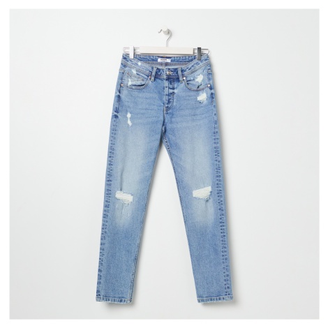 Sinsay - Roztrhané džínsy - Tmavomodrá