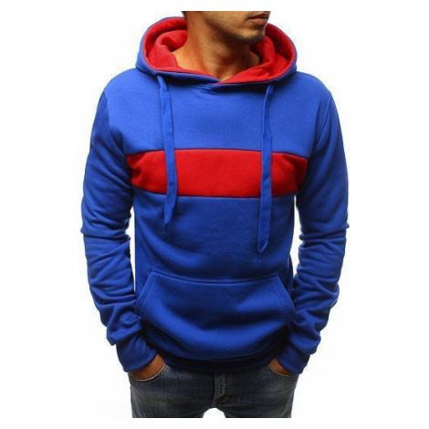 Men's blue hoodie BX3660 DStreet