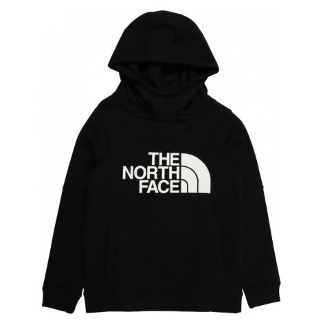 THE NORTH FACE Športová mikina  strieborná / čierna