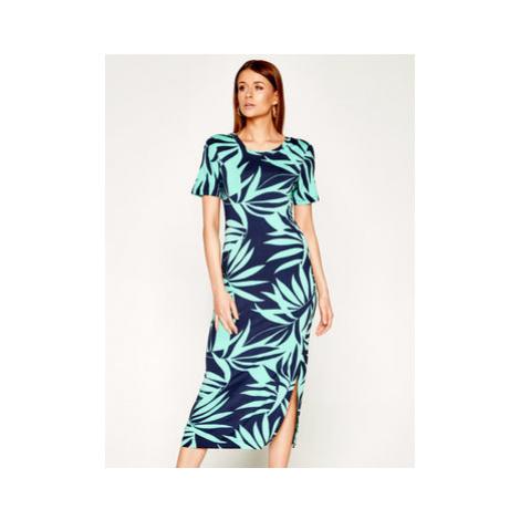Laurèl Každodenné šaty 11021 Zelená Regular Fit Laurel